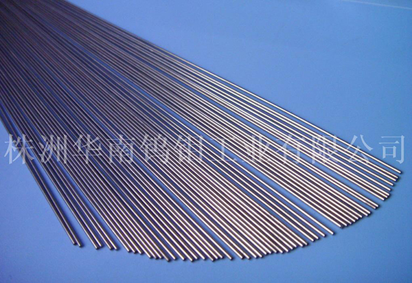 polished tungsten bar