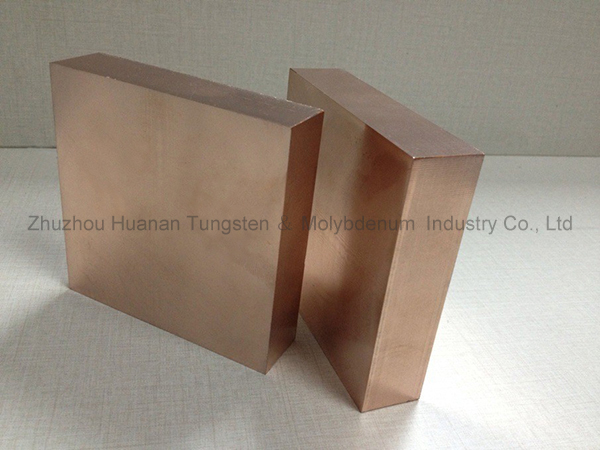 copper tungsten plate